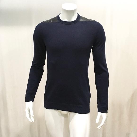 85a84fb74 Hugo Boss Sweaters   Mens Blue Crewneck Sweater   Poshmark